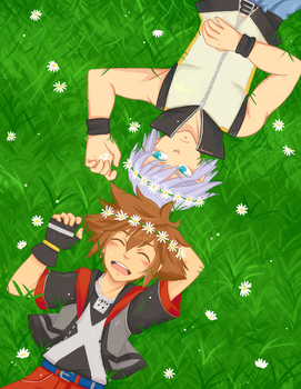 KH: Dream Drop Daisies by KENZICHII