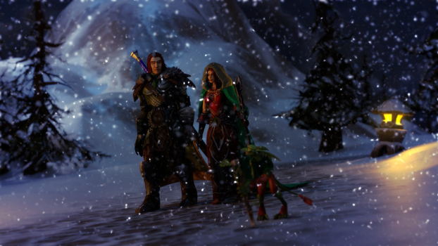 A Walk In The Cold by mystmantle
