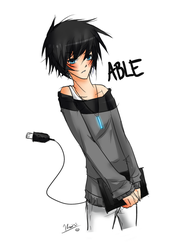 Able-kun by Kawaiishi