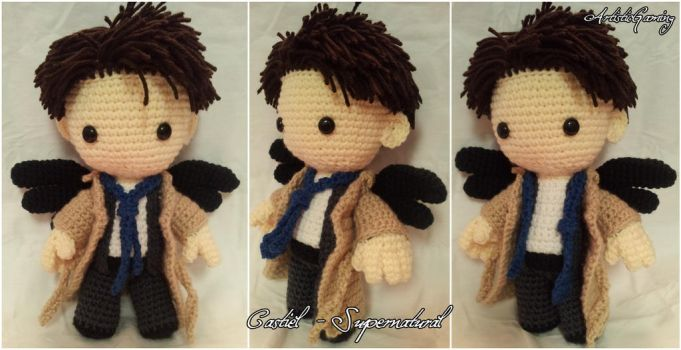 Castiel - Supernatural by GamerKirei