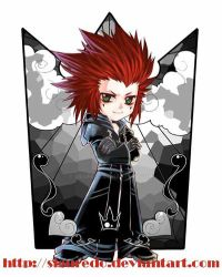 Axel chibi by Zen by siguredo