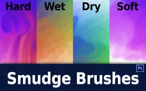 Smudge Brushes by GrindGod
