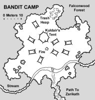 Bandit Camp Map by JeffDee