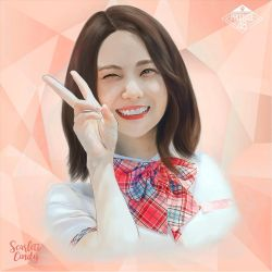 Lee Kaeun_Produce48 by ScarlettCindy