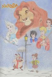 The world of Narnia by Thorinstrawberry