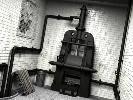 Old Steam press by PhilJacques