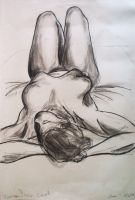 Life Drawing: Arched Back by lookingfromdownunder