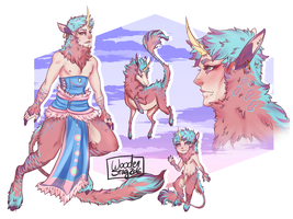 [closed] Satyr Adopt 6  [Price lowered more] by Wooden-Stag