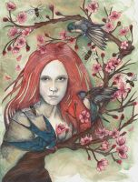 In the Spring I Shed My Skin by VanadiumTaintedBeryl
