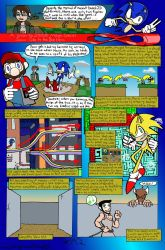Sonic Mega Special 1 by SergeXIII