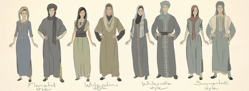 Clothing styles part II: northern by Maimunche
