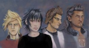 Final Fantasy XV fanart by dragonladych