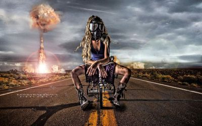 Atomic Trike Chick on Ground Zero by thegiven32