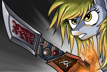 Derpy: Courage by Robsa990