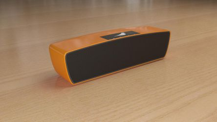 Bluetooth Speaker Product Render by GeetBhatt