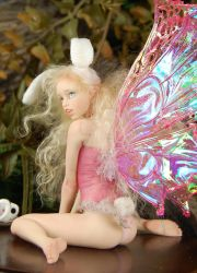 fairy Bunny Rabbit by polymer-people