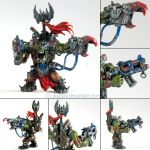 Warhammer 40k figures - Orc 2 Boss by ukapala