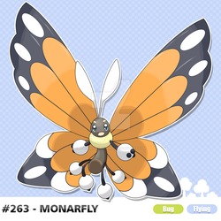 #263 - Monarfly by AdrianoL-Drawings