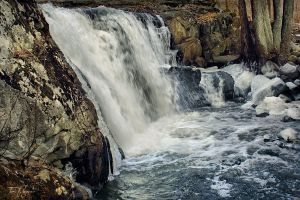 Small Waterfall by Pajunen