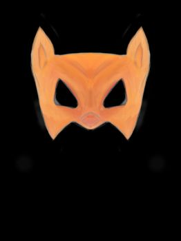 Fox mask by mapgie