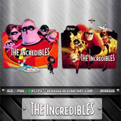 The Incredbles [2004] Folder Icon Pack by deoxsis