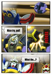 Commission - G Gundam X Power Rangers - Page 4 by punkbot08