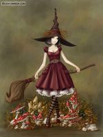 Witch Ingrid by LiaSelina