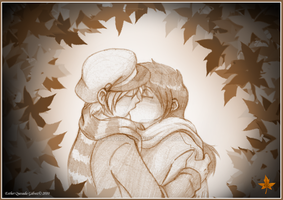 Autumn kiss by Raygirl13