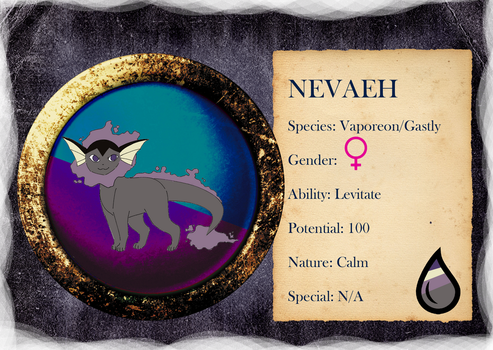 PARPG - Nevaeh Reference - Level 2 - NOT MY ART by NataliaDriscol