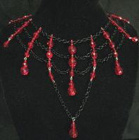 A Dark Web Necklace by MetallicVisions
