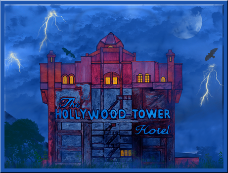 Tower of Terror Collab by WDWParksGal