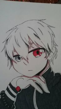 Tokyo Ghoul... by CherryGore-PS