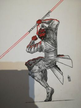 Darth Maul by mothersknife