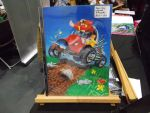 Comic-con pics: Original Eggman print by DBurch01