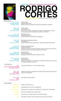 Resume Espanol by rogaziano