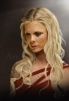 A painting of Morgause by jht888