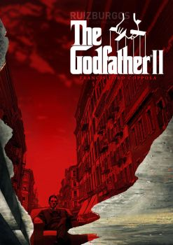 THE GODFATHER II (1974) by RUIZBURGOS