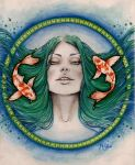 Pisces by MsSophieArt
