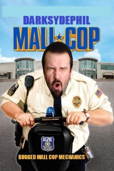 DarkSydePhil Mall Cop by StaryBlaze