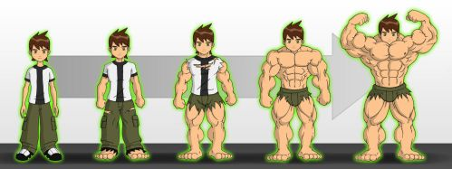 Ben 10 -A Different Power- by zephleit
