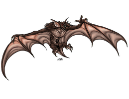 Ahool: Bat Monster by ProdigyDuck