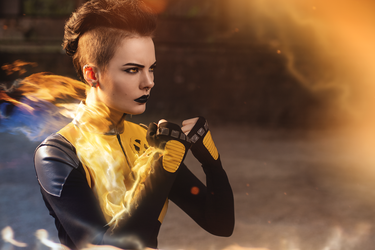 Negasonic Teenage Warhead [What the shit] by FaerieBlossom