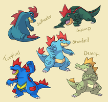 Pokemon Subspecies: Feraligatr