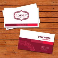 free business card template by Designbolts