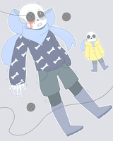 buttontale!sans by duskochi