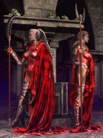 The Drow Red Guard by Lokai2000