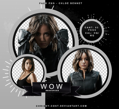PNG PACK #015 - CHLOE BENNET by WOWResources