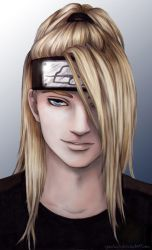 Semi-Realism: Deidara by cynchick