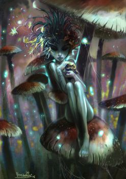 mashroom by breath-art