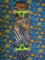The X-Deck_Acrylic on Wood by MichaelAdamFlores